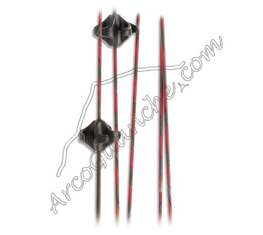 Cuerda roja y negra PSE Phenom
