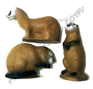 Dianas 3D Animales pequeños (3ud)